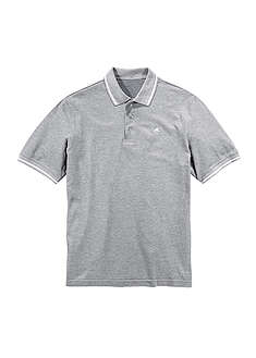 Shirt polo jasnoszary melanż Z