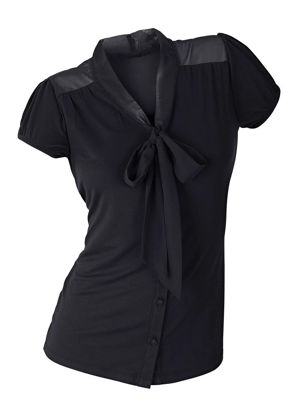 Блузка из трикотажа