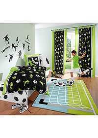"Draperie ""Fotbal"" (pachet 1) verde bpc living bonprix collection 1"