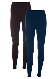 Sztreccs legging (2 db-os csomag) bpc bonprix collection 38