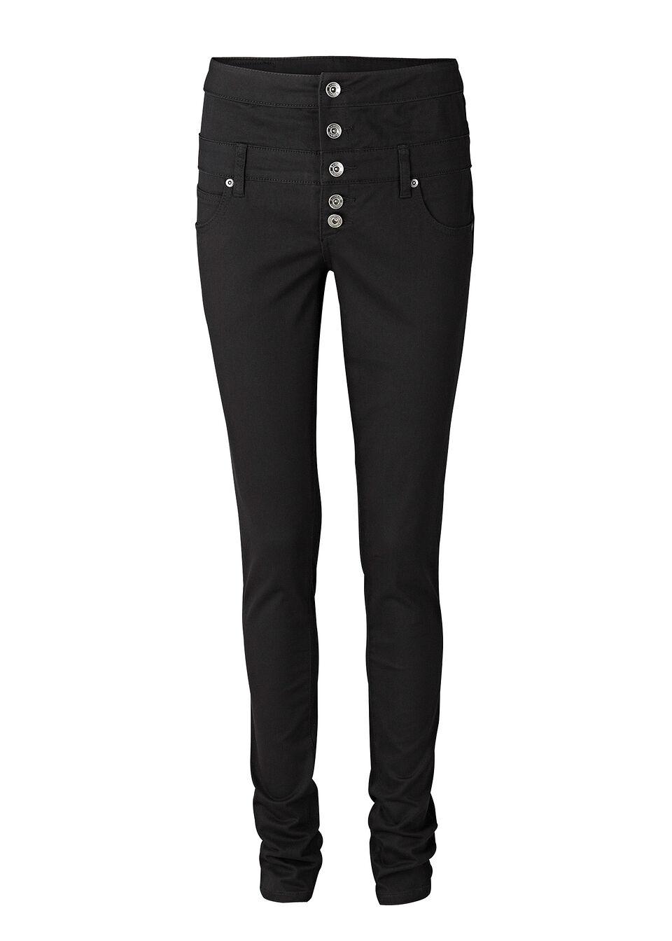 Pantaloni cu talie înaltă bonprix