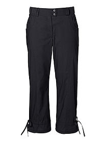 Pantaloni stretch 7/8 negru bpc bonprix collection 0