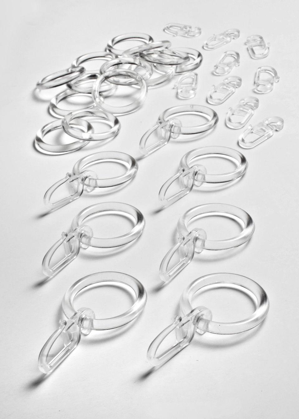 Крючки и кольца (30 шт.)