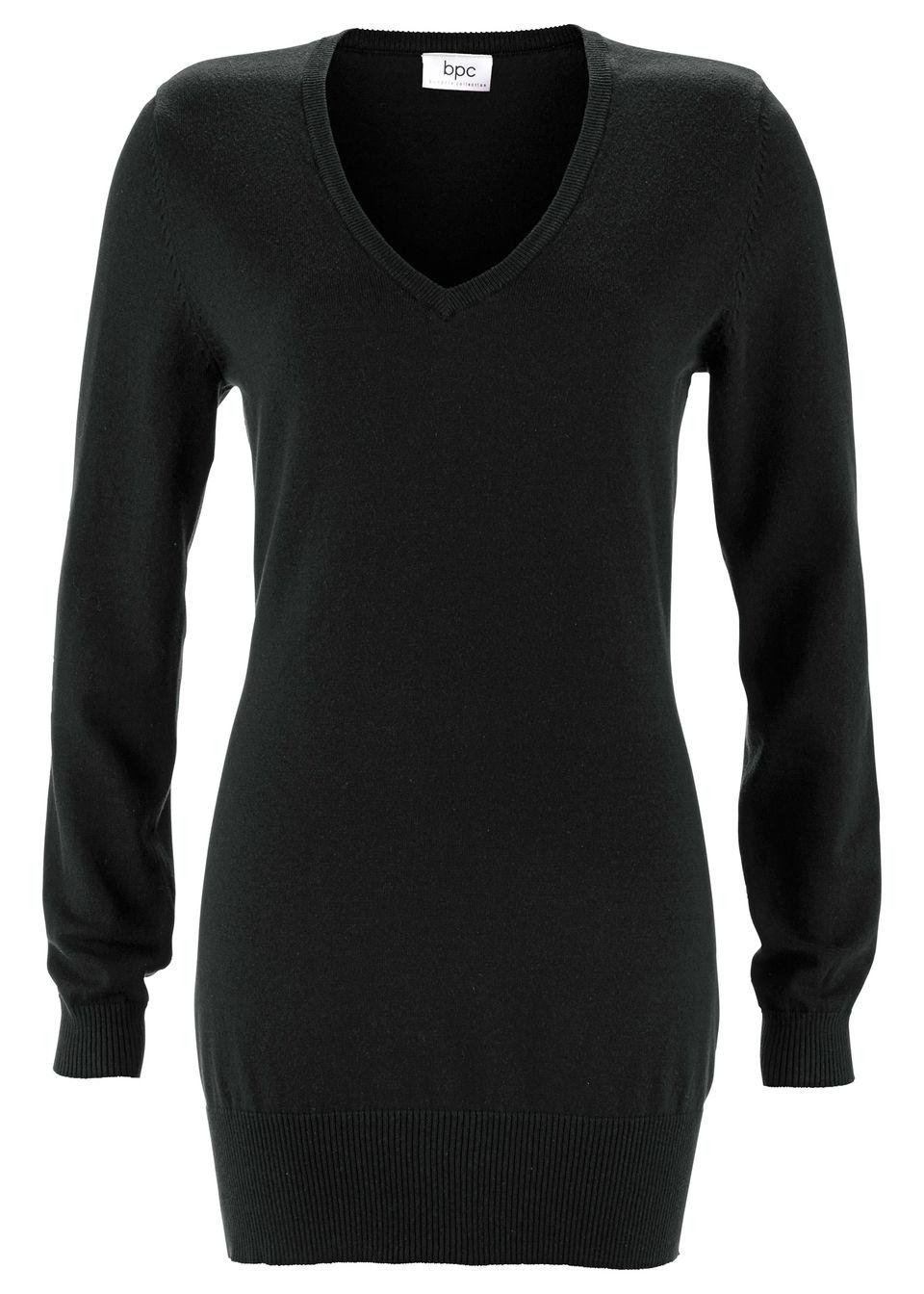 Пуловер удлиненного покроя от bonprix