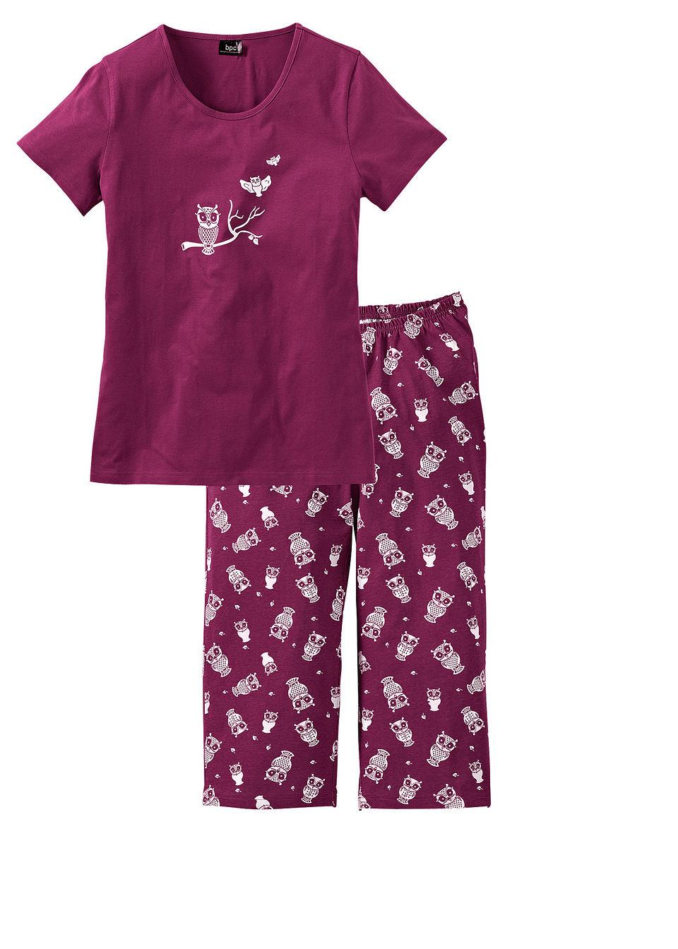 Pijama capri bonprix