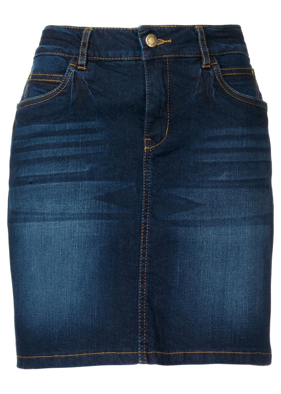Джинсовая юбка-стретч от bonprix