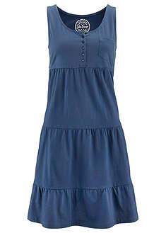 ee60c6746 Pamut farmer ruha 1/2-es ujjakkal kék kőmosott • 6999.0 Ft • bonprix