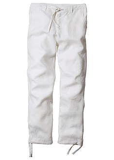 Pantaloni drepţi din in, Regular Fit-bpc bonprix collection