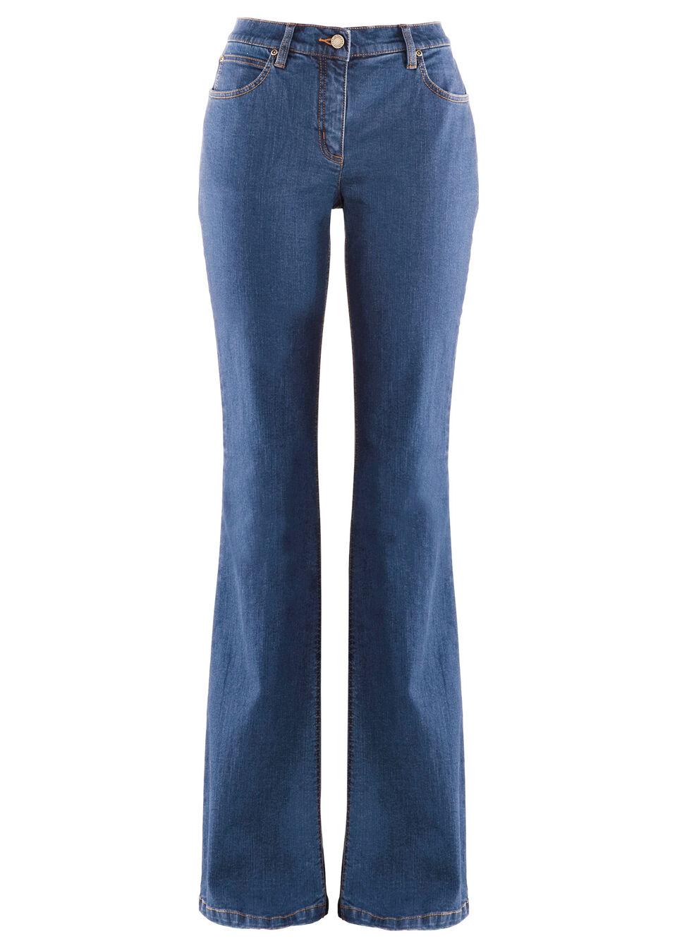 Jeans evazaţi stretch bonprix