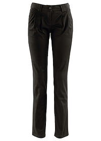 Pantaloni chino stretch negru bpc bonprix collection 0