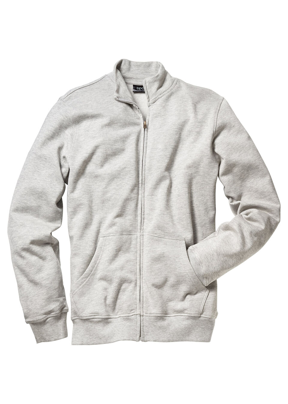 Куртка из трикотажа с воротником-стойкой от bonprix