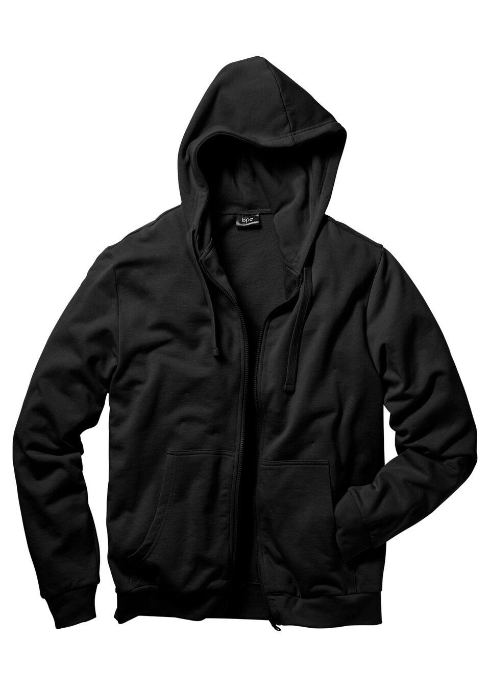 Куртка с капюшоном, трикотаж от bonprix