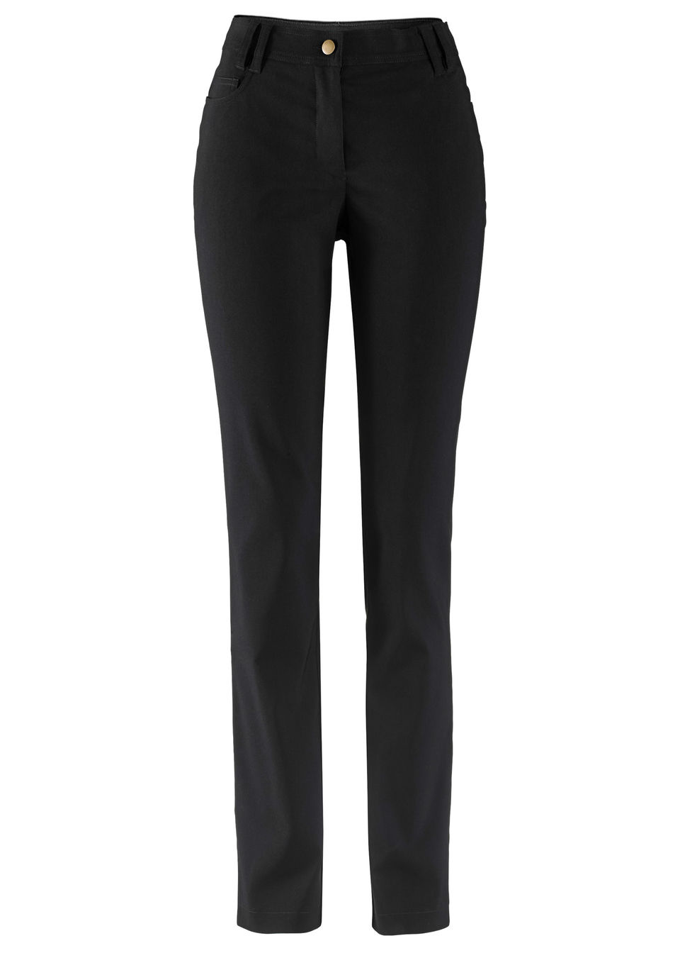 Узкие брюки из бенгалина в стиле «5 карманов»