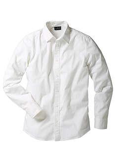 Koszula ze stretchem Slim Fit biały
