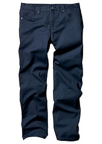 Pantaloni drepţi Regular Fit bleumarin bpc bonprix collection 0