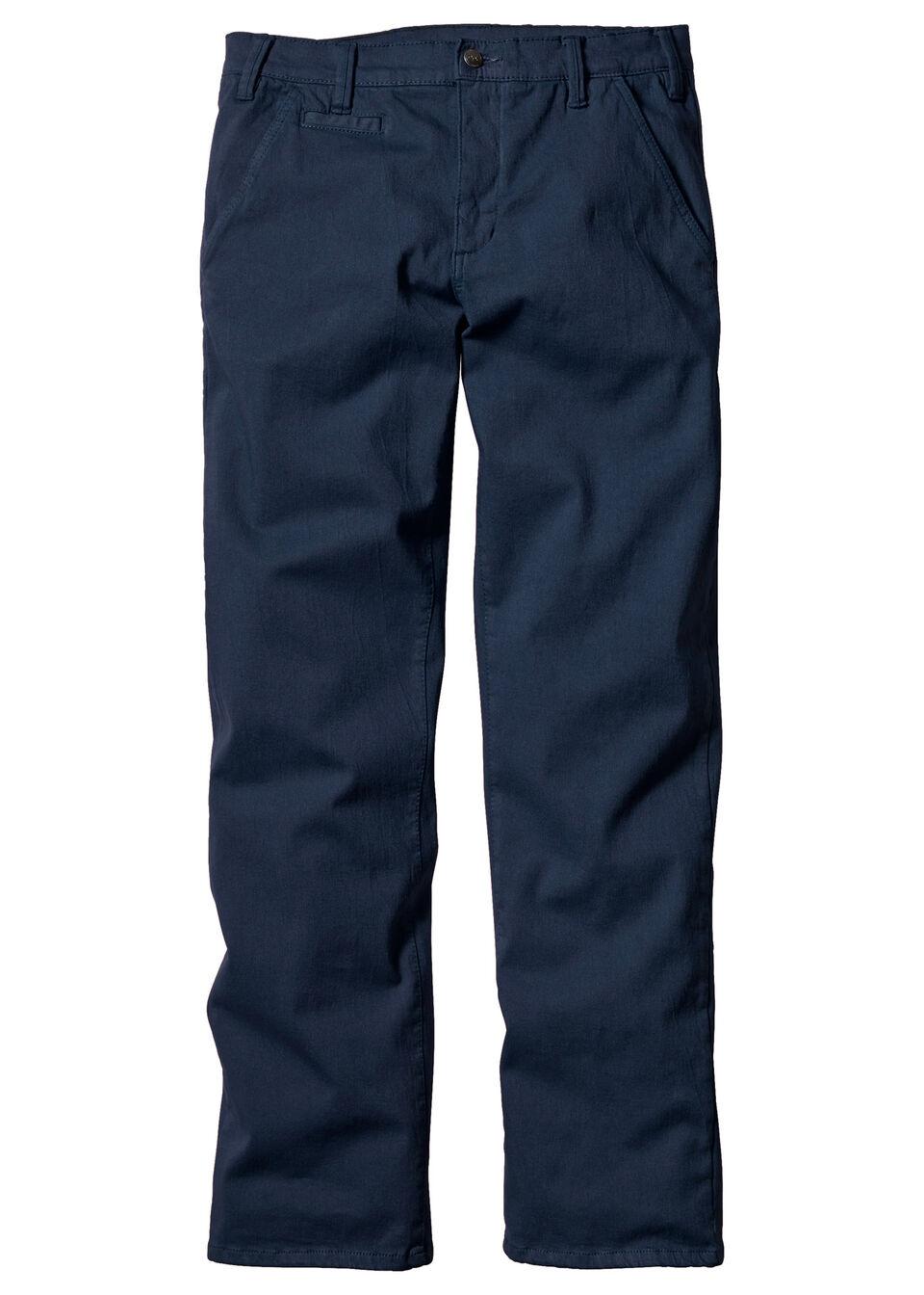 Pantaloni chino Slim Fit cu Straight bonprix