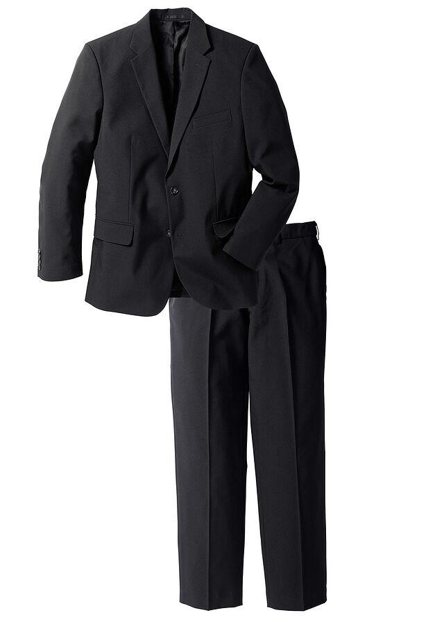 f07ff4c6db Öltöny (2-részes): zakó és nadrág fekete • 19999.0 Ft • bonprix
