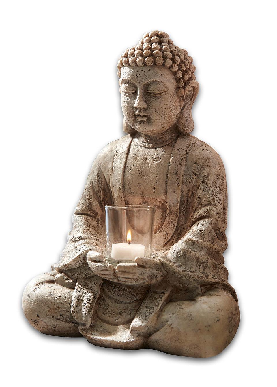 Подсвечник-статуэтка «Будда»