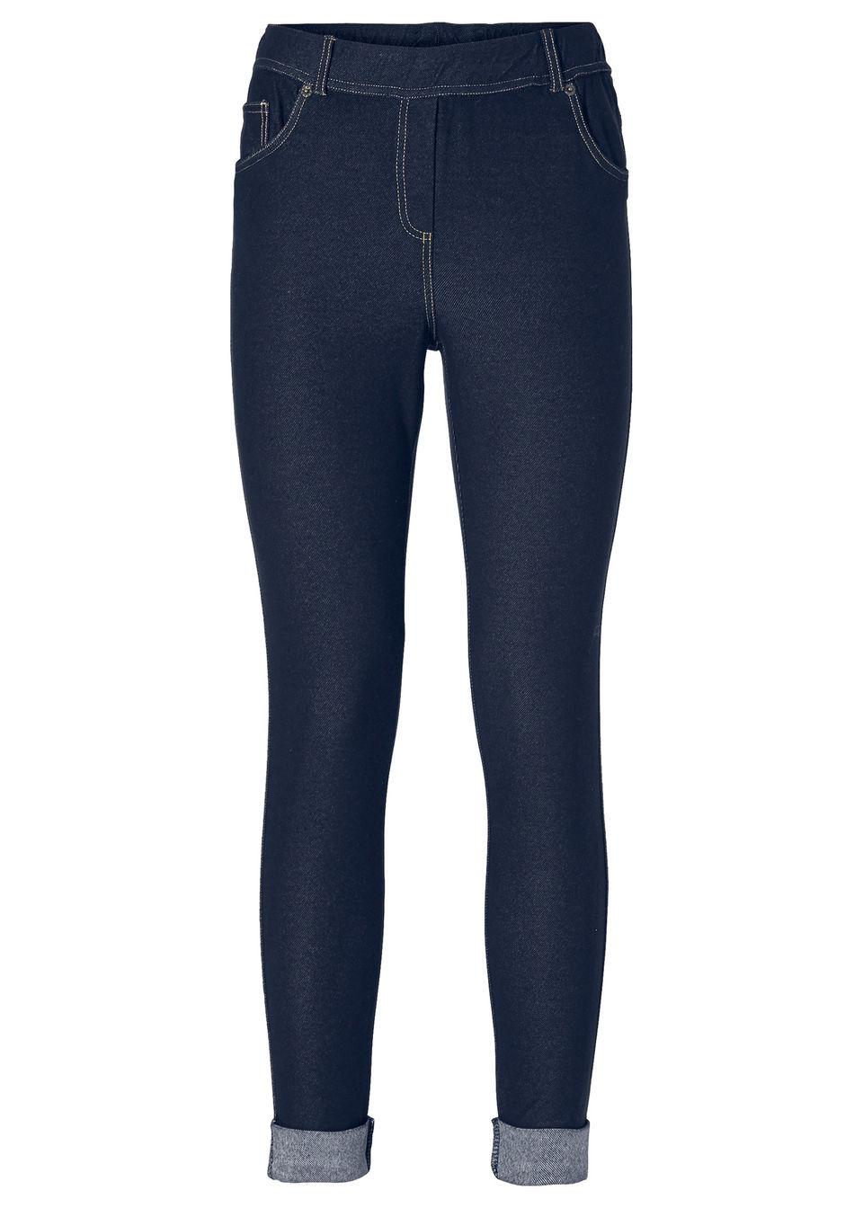 1c4fdf95b1ed Легинсы в джинсовом стиле черный «потертый» • 749.0 грн • bonprix