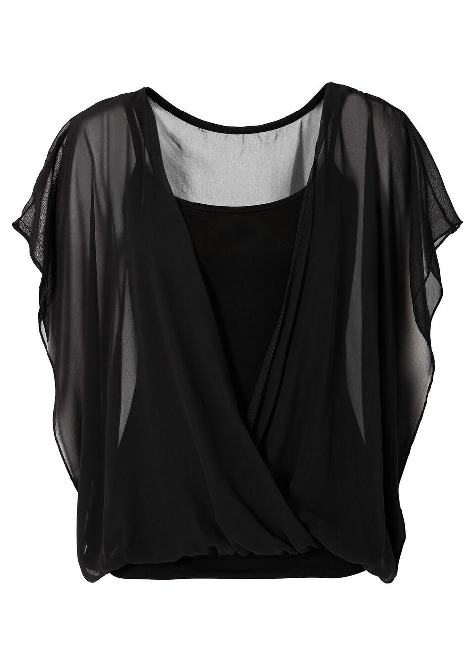Трикотажная блузка