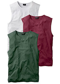 Maiou sport (3buc/pac) bordo+verde inchis+alb bpc bonprix collection 0