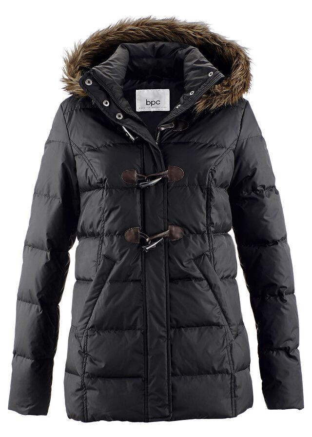 Prešívaná bunda (ľahké páperie) čierna • 59.99 € • bonprix bdbabe0ecd2