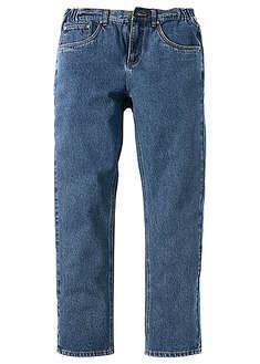 Dżinsy z elastycznymi wstawkami w talii CLASSIC FIT STRAIGHT niebieski