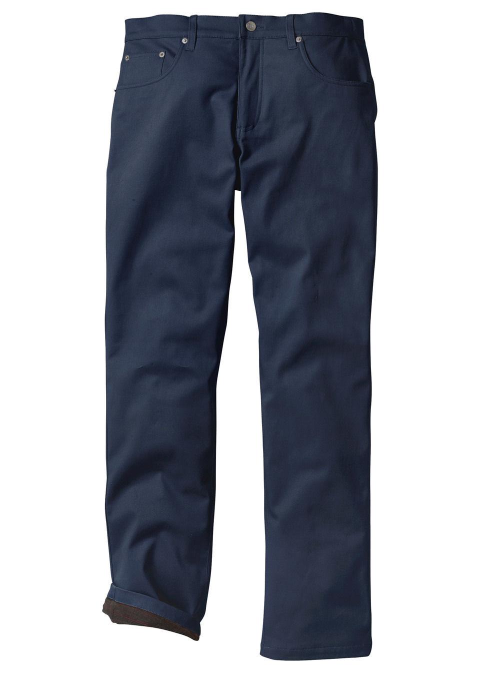 Pantaloni termo stretch bonprix