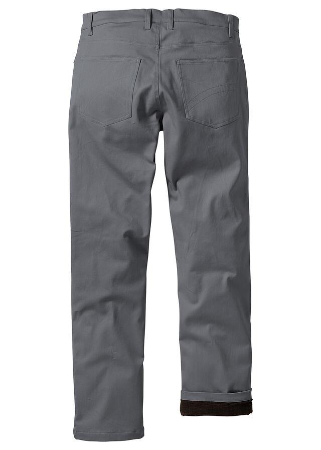 7bdb77482caea0 Spodnie ocieplane dymny szary Na ciepłej • 149.99 zł • bonprix