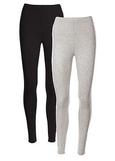 Sztreccs legging (2 db-os csomag)-bpc bonprix collection