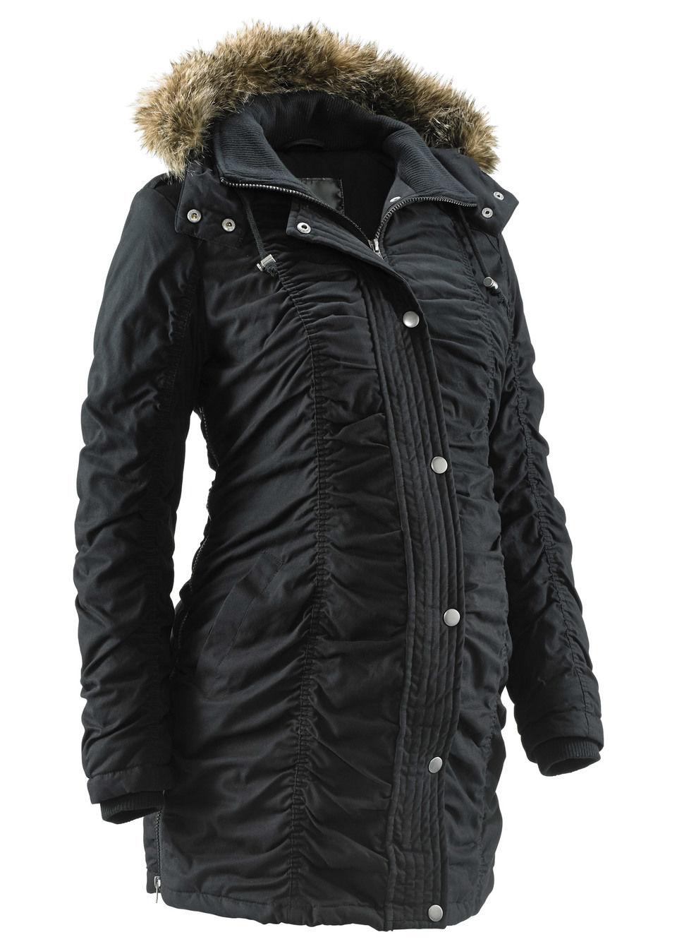 Для будущих мам: куртка с капюшоном