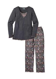 c9c03038eb8e Flanelové pyžamo cyklámenová károvaná Z • 21.99 € • bonprix