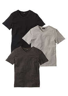 t-shirt-z-dekoltem-w-serek-3-szt-regular-fit-bpc bonprix collection