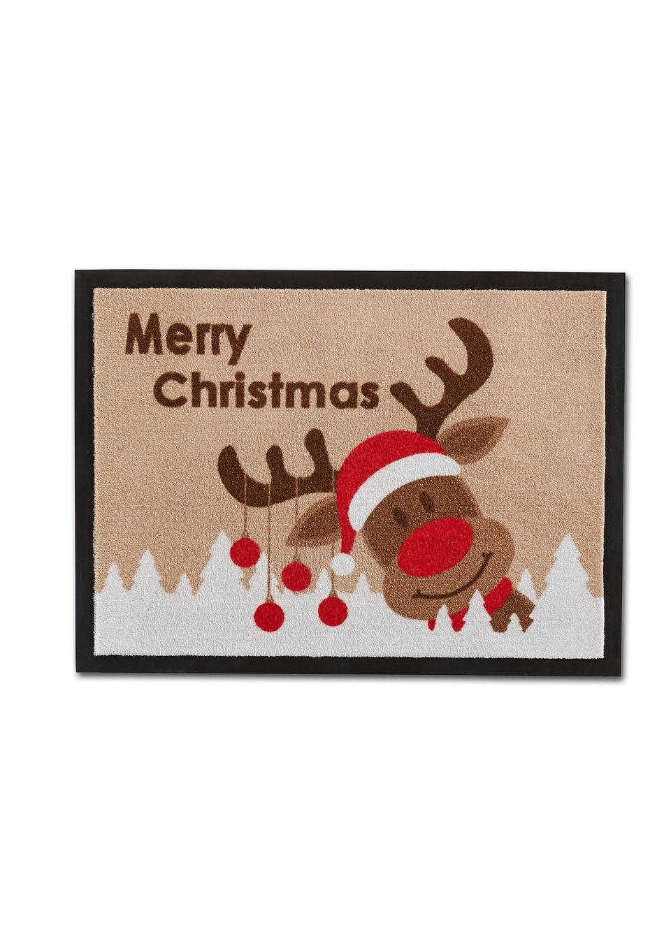 Коврик для двери «Merry Christmas»