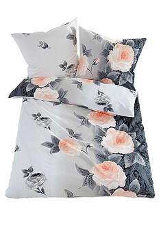 Lenjerie de pat cu design floral bpc living bonprix collection 7