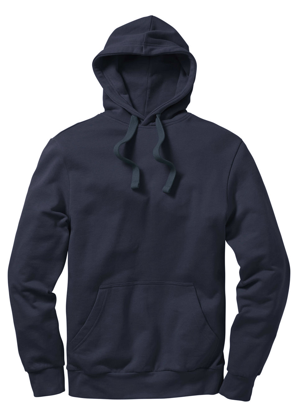 bluzy, bluzy z kapturem bluza z kapturem regular fit bonprix granatowy - bonprix