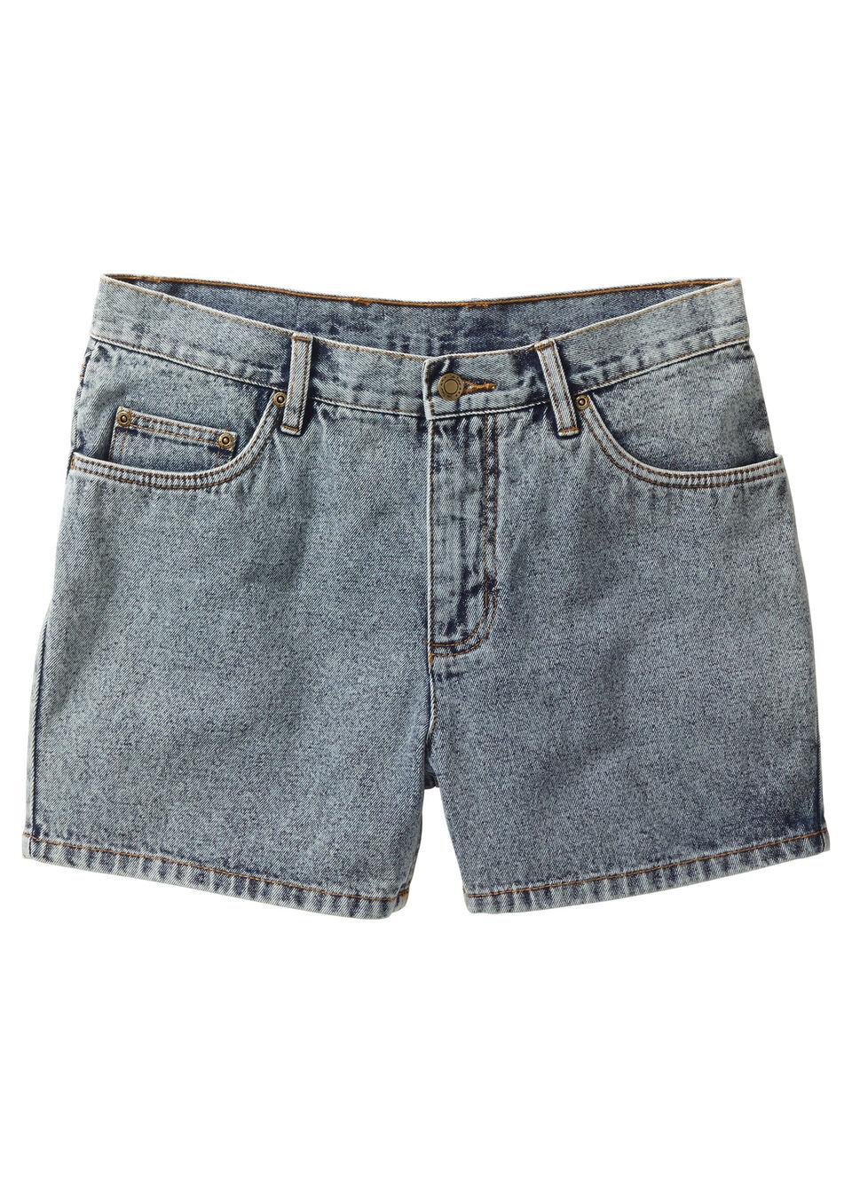 Szorty dżinsowe Regular Fit bonprix niebieski moon washed