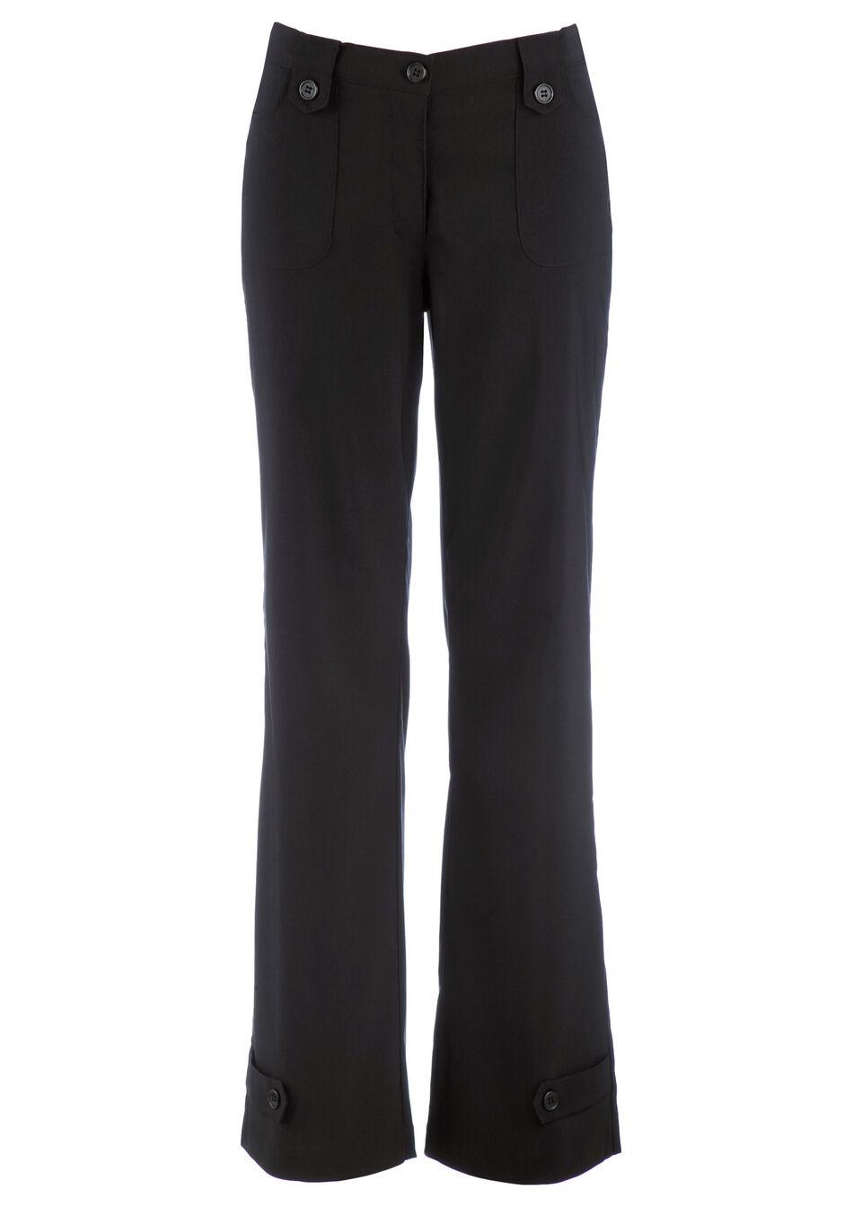 Прямые брюки-стретч из бенгалина