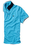 Tricou polo Pique turcoaz bpc bonprix collection 11