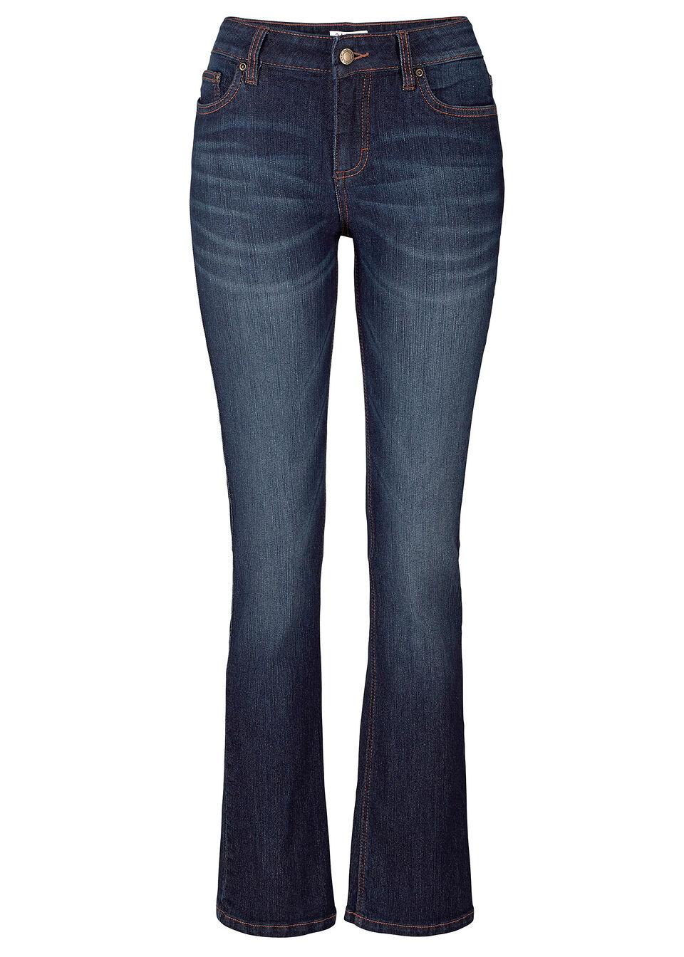 Комфортные джинсы-стретч BOOTCUT