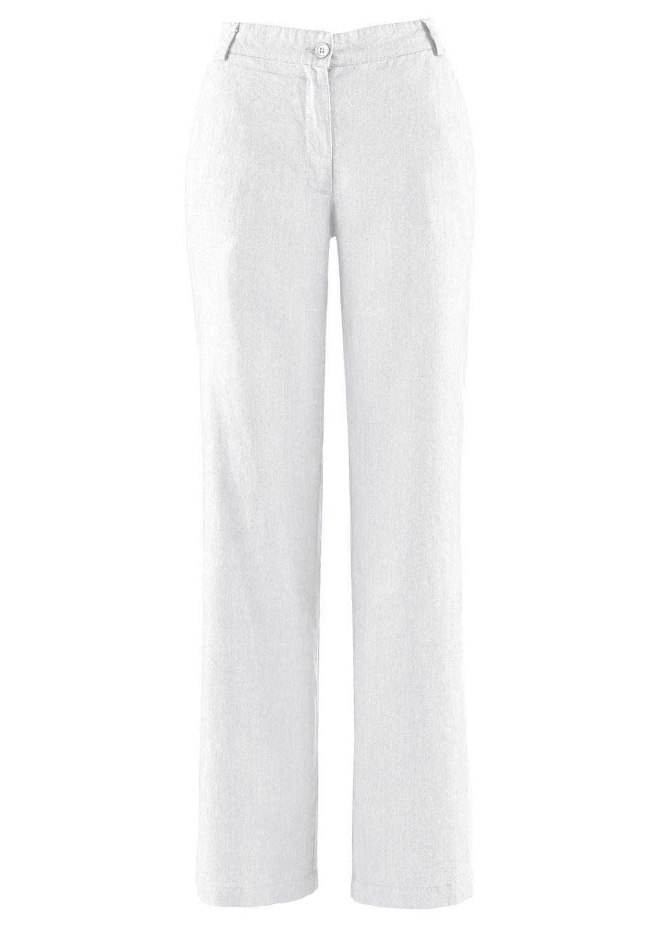 Широкие льняные брюки от bonprix