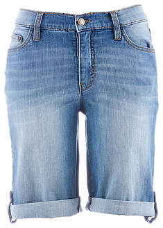 Short denim cu confort-stretch John Baner JEANSWEAR 3