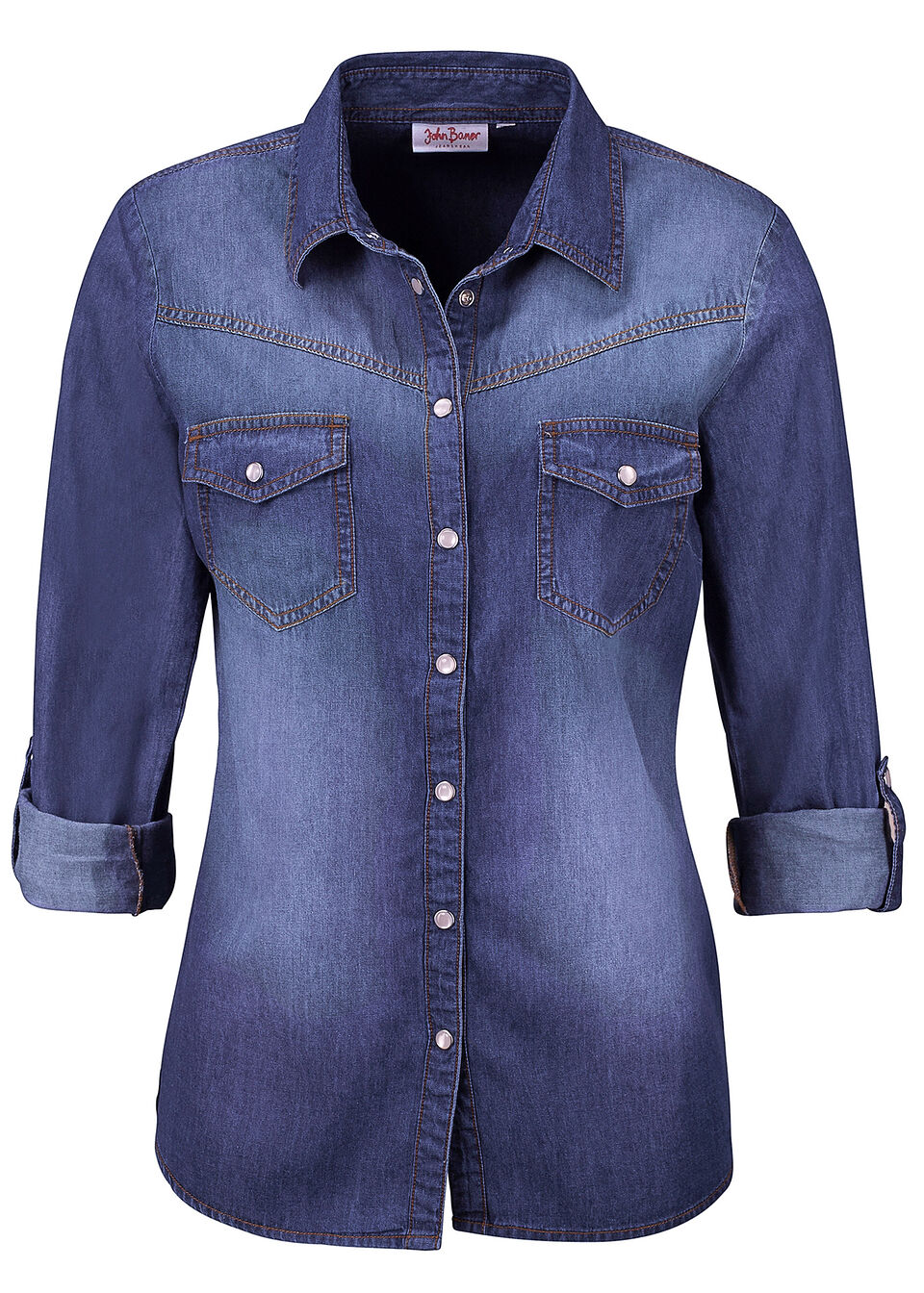 Джинсовая рубашка от bonprix