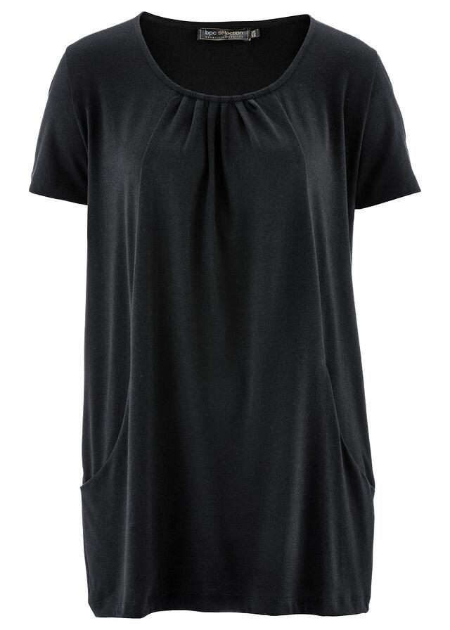 1905ecff3445 Dlhé tričko čierna Priliehavý strih so • 16.99 € • bonprix