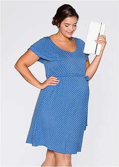 Tehotenské úpletové šaty bpc bonprix collection 24 1759bc74c61