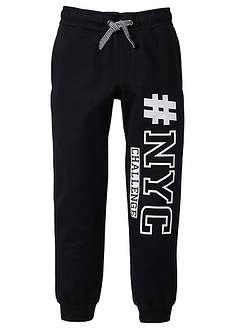 Pantaloni sport cu print-bpc bonprix collection