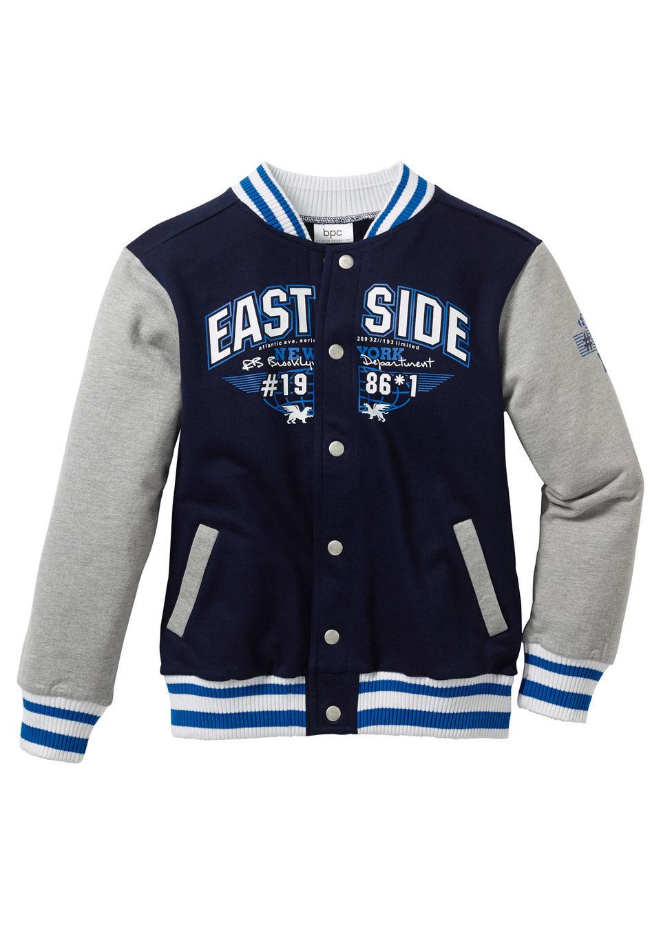 Куртка в колледжском стиле