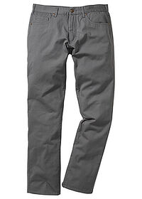 Pantaloni drepţi Regular Fit gri fumuriu bpc bonprix collection 0