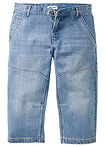 "Dżinsy 3/4 Regular Fit Tapered niebieski ""medium bleached"" John Baner JEANSWEAR 4"