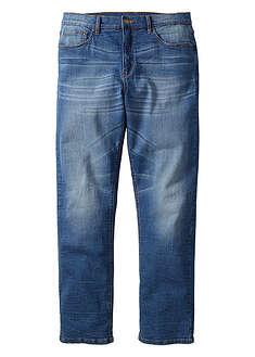 Dżinsy ze stretchem Classic Fit Straight niebieski